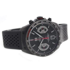 Tag Heuer Grand Carrera CAV518B.FT6016 43mm Mens Watch