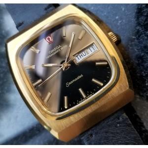 Omega Seamaster Megaquartz Vintage 40mm 1970s Mens Watch