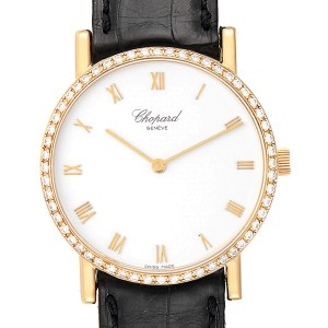Chopard Classique Yellow Gold Diamond Mens Watch 3154