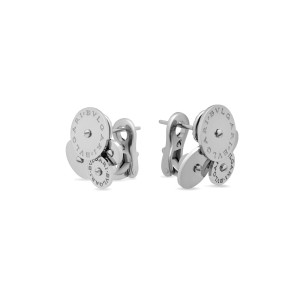 Bulgari 18K White Gold Cicladi Earrings