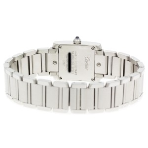 Cartier Tank Francaise WE110006 20.25mm Womens Watch