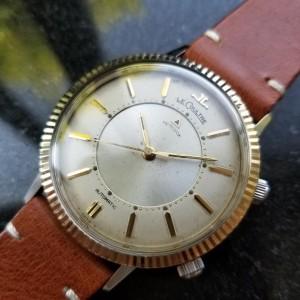 Jaeger LeCoultre Memovox Alarm 815/825 Vintage 37mm Mens Watch