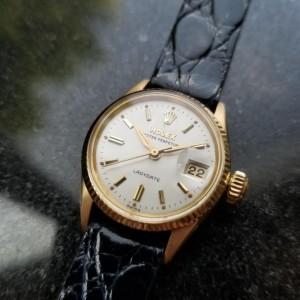 Rolex Oyster 6517 Vintage 25mm Womens Watch