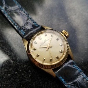 Rolex Oyster Perpetual 6619 Vintage 24mm Womens Watch