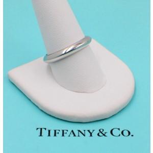 Tiffany & Co. 950 Platinum Wedding Band Ring Size 10.5