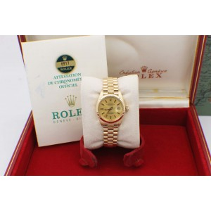 Rolex President Datejust 6917 26mm Womens Watch