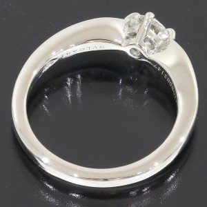 Bulgari Bvlgari Platinum Diamond Ring Size 4.25