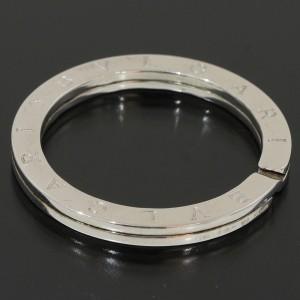 Bvlgari Sterling Silver Key Chain Ring