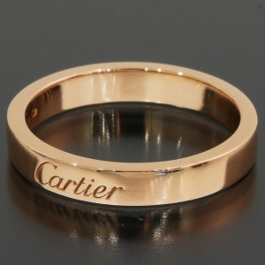 Cartier 18K Rose Gold Wedding Ring