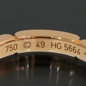 Cartier 18K Rose Gold Ring Size 5