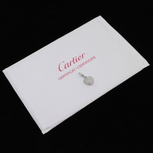 Cartier 18K White Gold Diamond Pendant