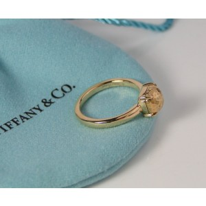 Tiffany & Co. Paloma Picasso 18K Rose Gold Paloma's Sugar Stacks Ring Size 7