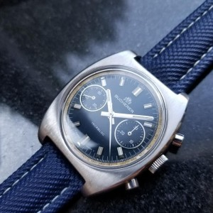 Bucherer Chronograph Vintage 36mm Unisex Watch