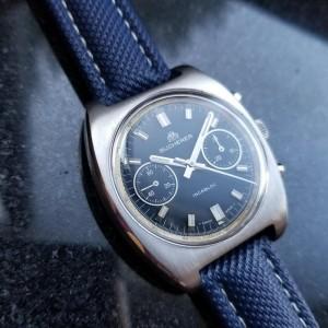 Bucherer Chronograph Vintage 36mm Unisex Watch
