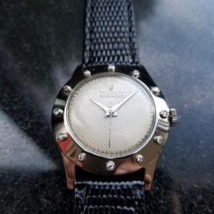Juvenia Dress Watch LV428 Vintage 32mm Mens Watch