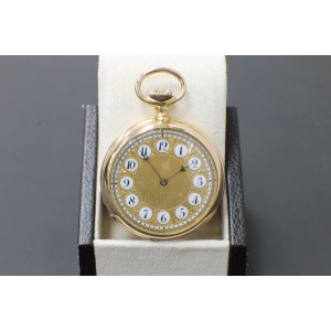 Patek Philippe 18K Rose Gold Pocket Watch 89578 Very Rare Circa 1893