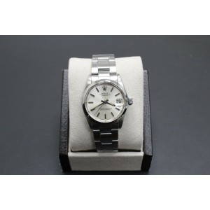 Rolex Midsize Datejust 31mm 6824 Stainless Steel Silver Index Dial
