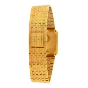 Piaget Vintage 18k Yellow Gold Swiss Quartz Ladies Watch 7141 C 4
