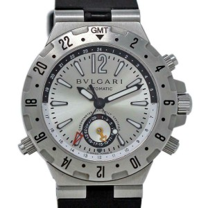 Bvlgari Diagono GMT 40 S Steel 40.0mm  Watch