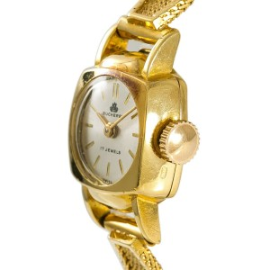 Bucherer  Yellow Gold 14mm Womens Watch