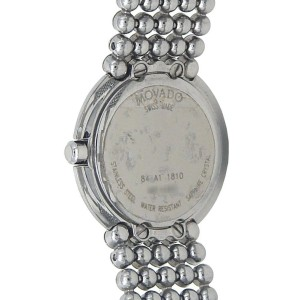 Movado Trembrili Museum Stainless Steel Swiss Quartz Ladies Watch 84-A1-1810