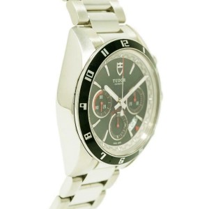 Tudor Grantour 20530 Steel 42.0mm Watch
