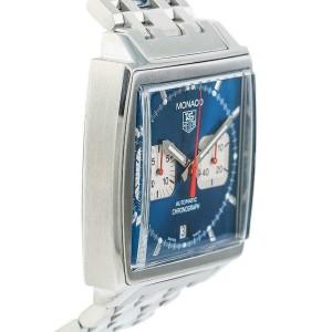 Tag Heuer Monaco CW2113-0 Steel 38.0mm Watch