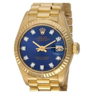 Rolex Datejust 6917 Gold 26.0mm Womens Watch