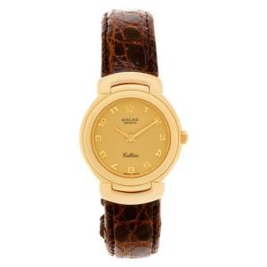 Rolex Cellini 6621 Gold 33.0mm Womens Watch