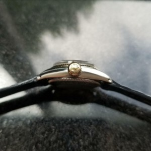 Rolex 18K & SS Ladies Oyster Perpetual 6619 Automatic, c.1968 Swiss Luxury MS149