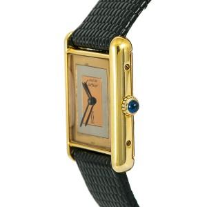Cartier Must 21 Silver 23mm Womens Watch