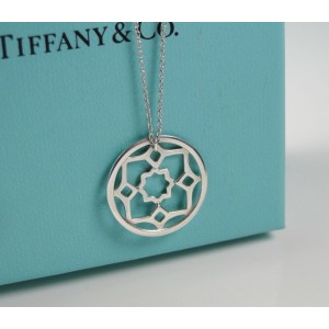 Tiffany & Co. Paloma Picasso Sterling Silver Zellige Medallion Pendant 20mm