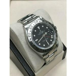 Rolex Explorer II Black Dial 16570 Stainless Steel