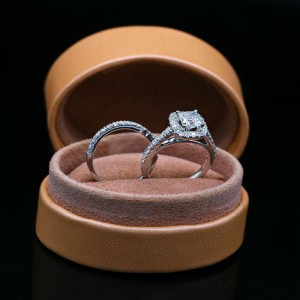 Ring Engagement 18k White Gold with 2.00ct. Diamonds