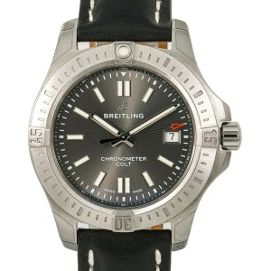 Breitling Colt A17313 Steel 41mm  Watch (Certified Authentic & Warranty)