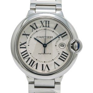 Cartier Ballon Bleu W69012Z4 Steel 42mm  Watch (Certified Authentic & Warranty)