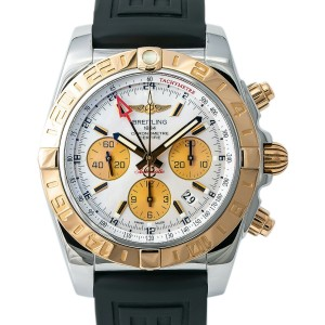 Breitling Chronomat CB0420 Steel 44mm  Watch (Certified Authentic & Warranty)