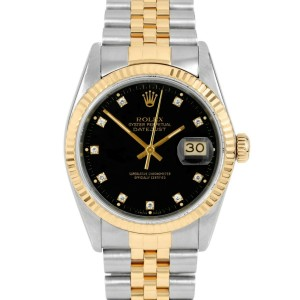 Rolex Datejust 16013 Steel 36mm  Watch (Certified Authentic & Warranty)