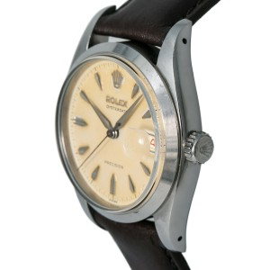 Rolex Oysterdate 6494 Steel 34mm  Watch (Certified Authentic & Warranty)