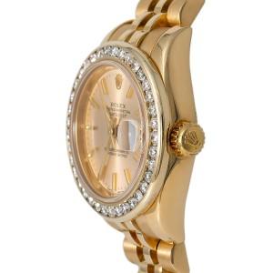 Rolex Datejust 179178 Gold 27mm Women Watch (Certified Authentic & Warranty)