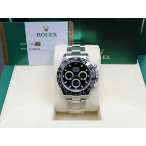 Rolex Daytona 116500 Black Ceramic Stainless Steel