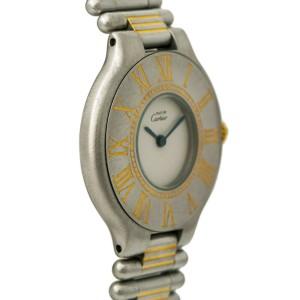 Cartier Must 21 9010 Steel 28mm Women Watch (Certified Authentic & Warranty)