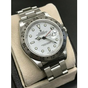 Rolex Explorer II White Dial 16570 Stainless Steel