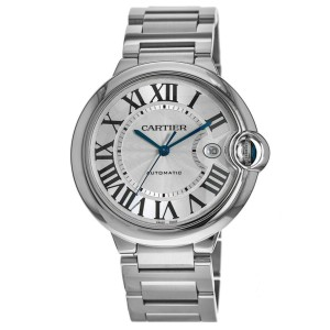 Cartier Ballon Bleu W69012Z4 Steel 42mm  Watch (Certified Authentic & Warranty)