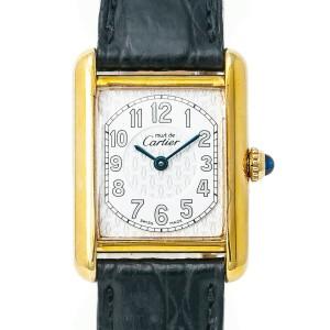 Cartier Must 21 2415 Silver 22mm Womens Watch