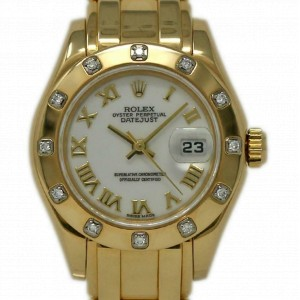 Rolex Masterpiece 69318 Gold 29.0mm Women Watch (Certified Authentic & Warranty)