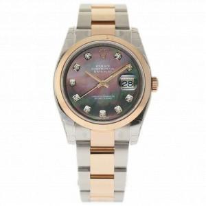 Rolex Datejust 116201 Steel 36.0mm Women Watch (Certified Authentic & Warranty)