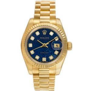Rolex Datejust 179178 Gold 0.0mm Women Watch (Certified Authentic & Warranty)