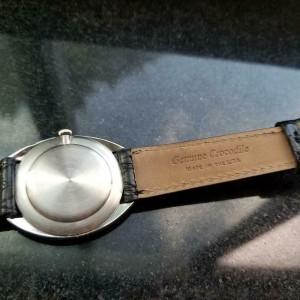 MOVADO Men's 18k White Gold Manual-Wind Dress Watch, c.1960s Swiss Vintage MA144