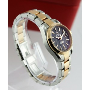 OMEGA SEAMASTER AQUA TERRA 231.20.30.20.06.001 ROSE GOLD CO-AXIAL LADIES WATCH